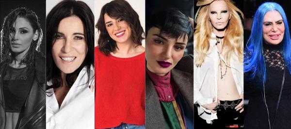 Le donne di Sanremo 2019
