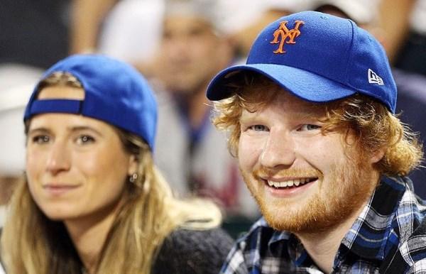 Ed Sheeran e sua moglie