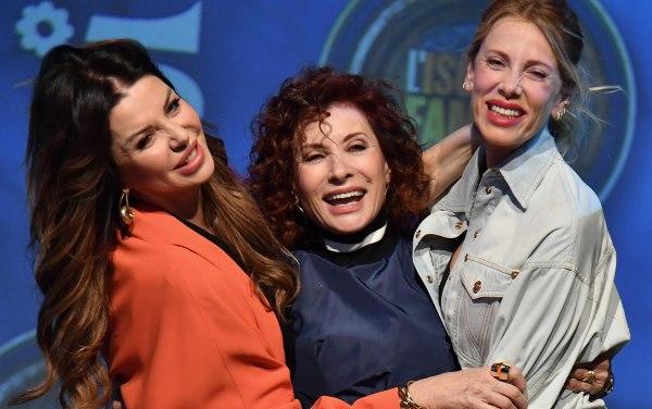 Alba Parietti, Alda DEusanio e Alessia Marcuzzi