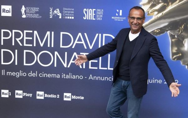 Carlo Conti presenta i David di Donatello