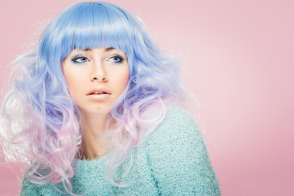 periwinkle hair