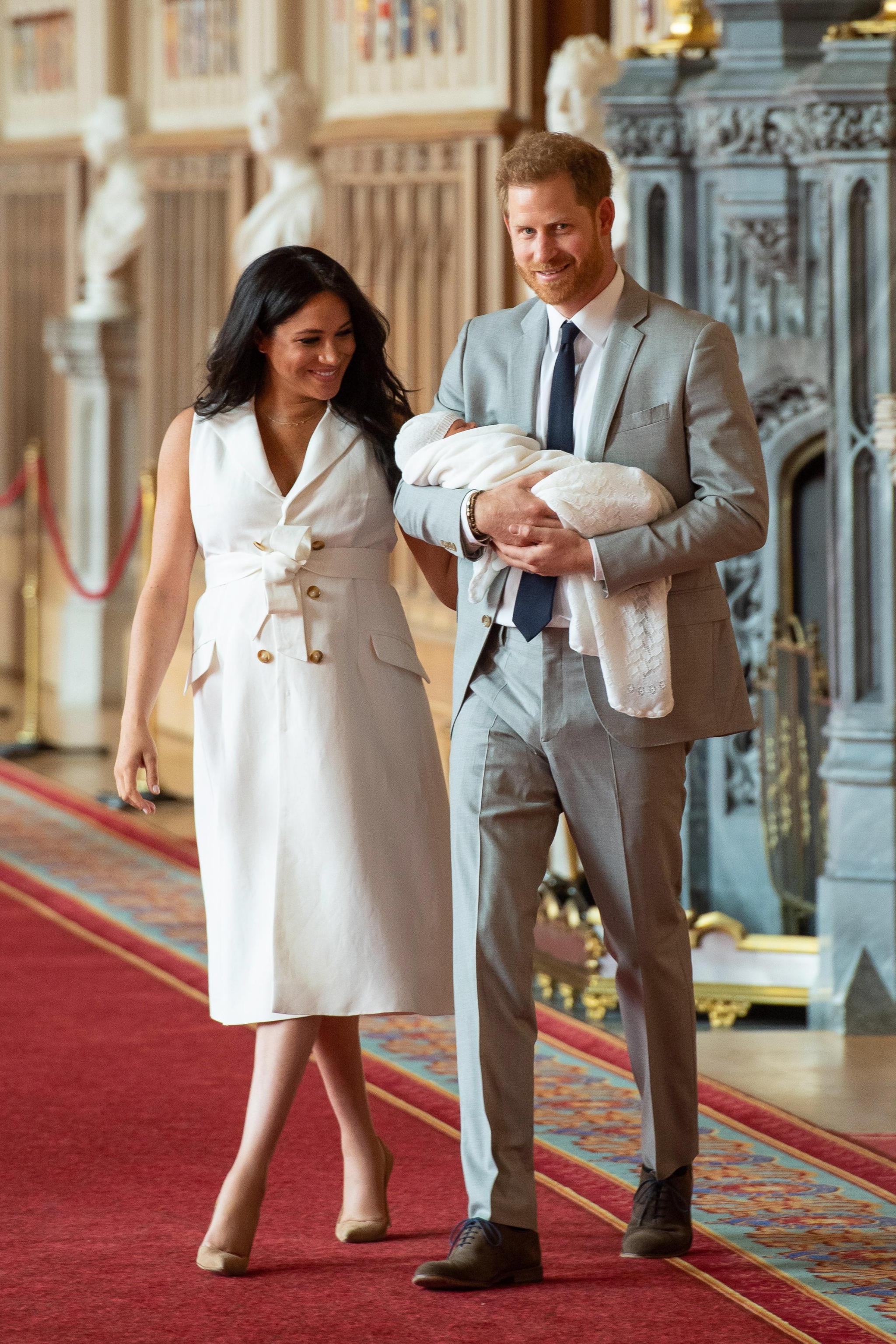 Meghan e Harry presentano il royal baby