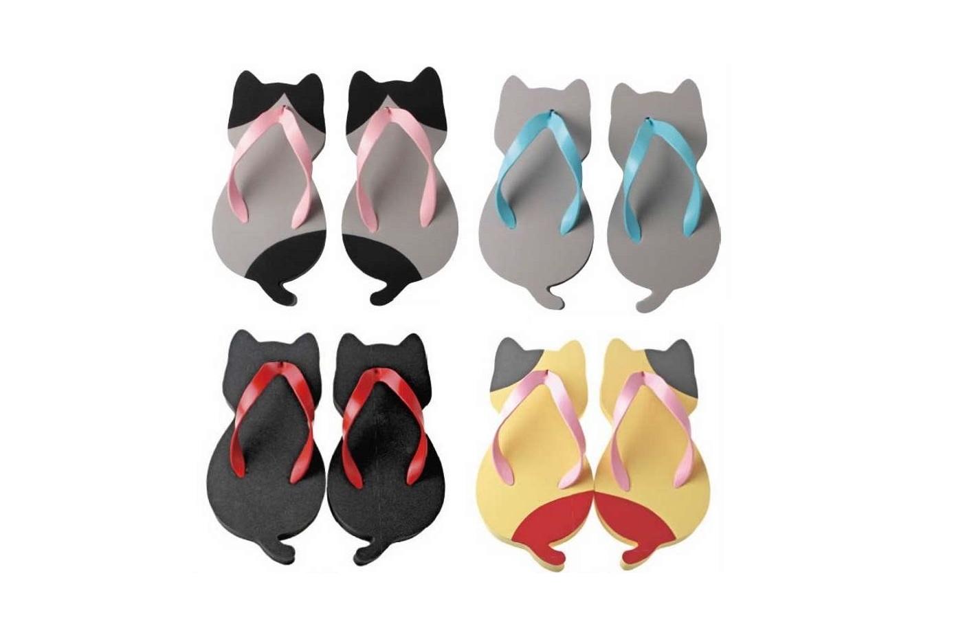 Sandali a forma di gatto