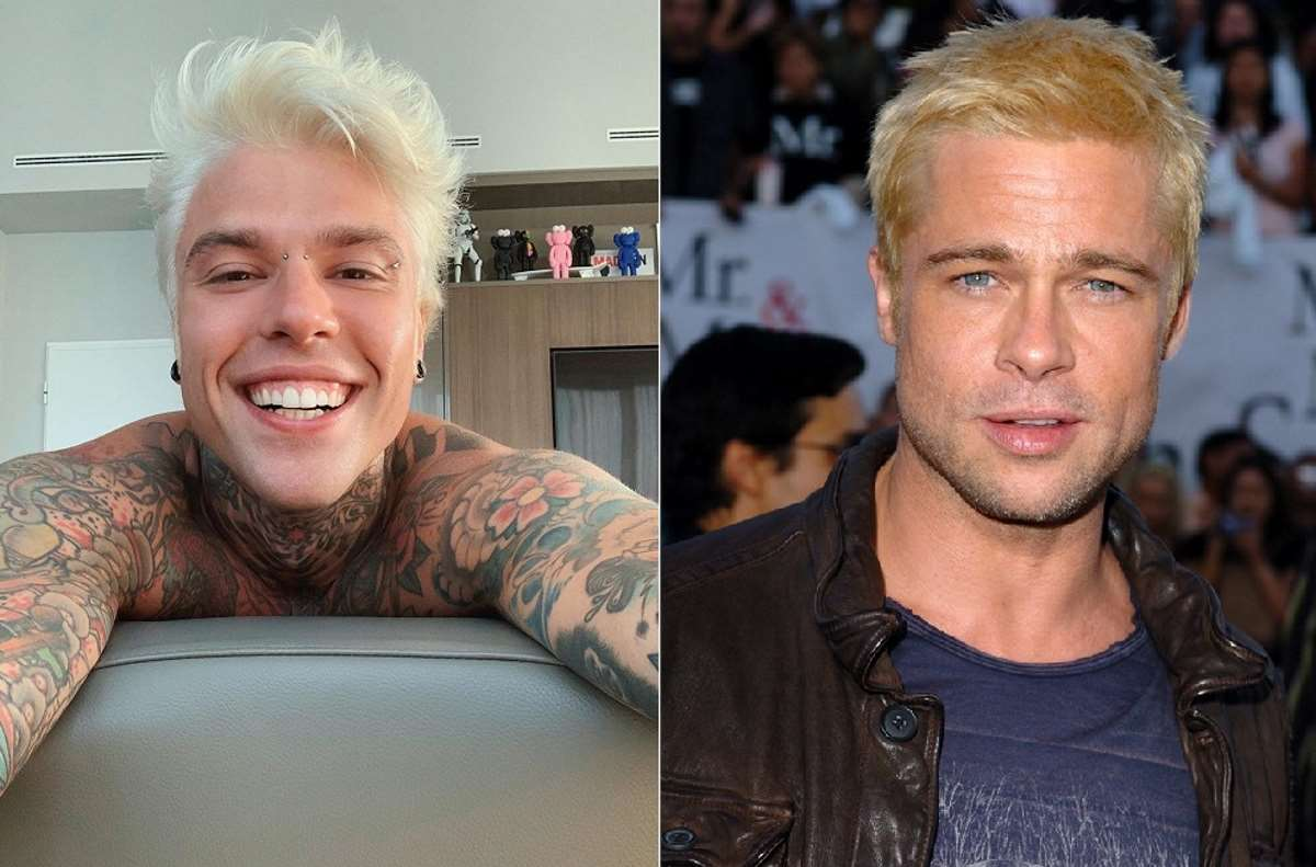 Fedez e Brad Pitt