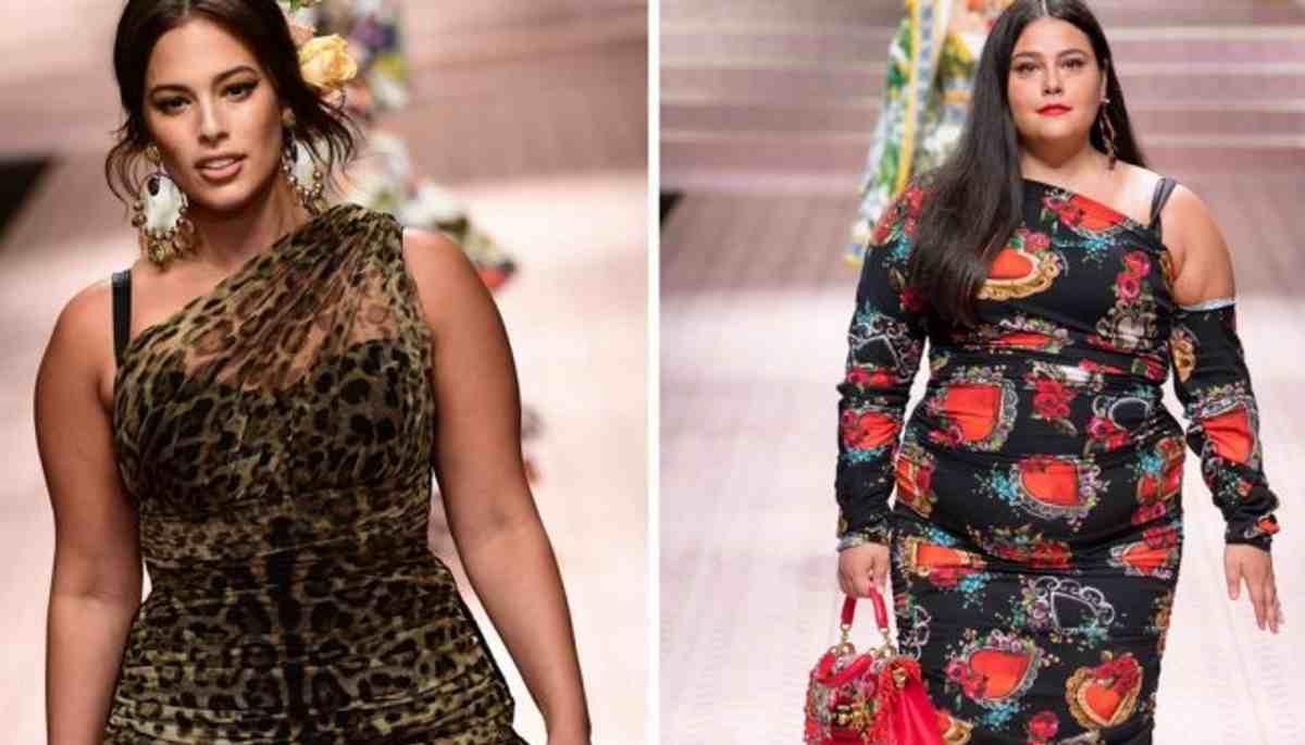 Dolce e Gabbana si apre a tutte le taglie