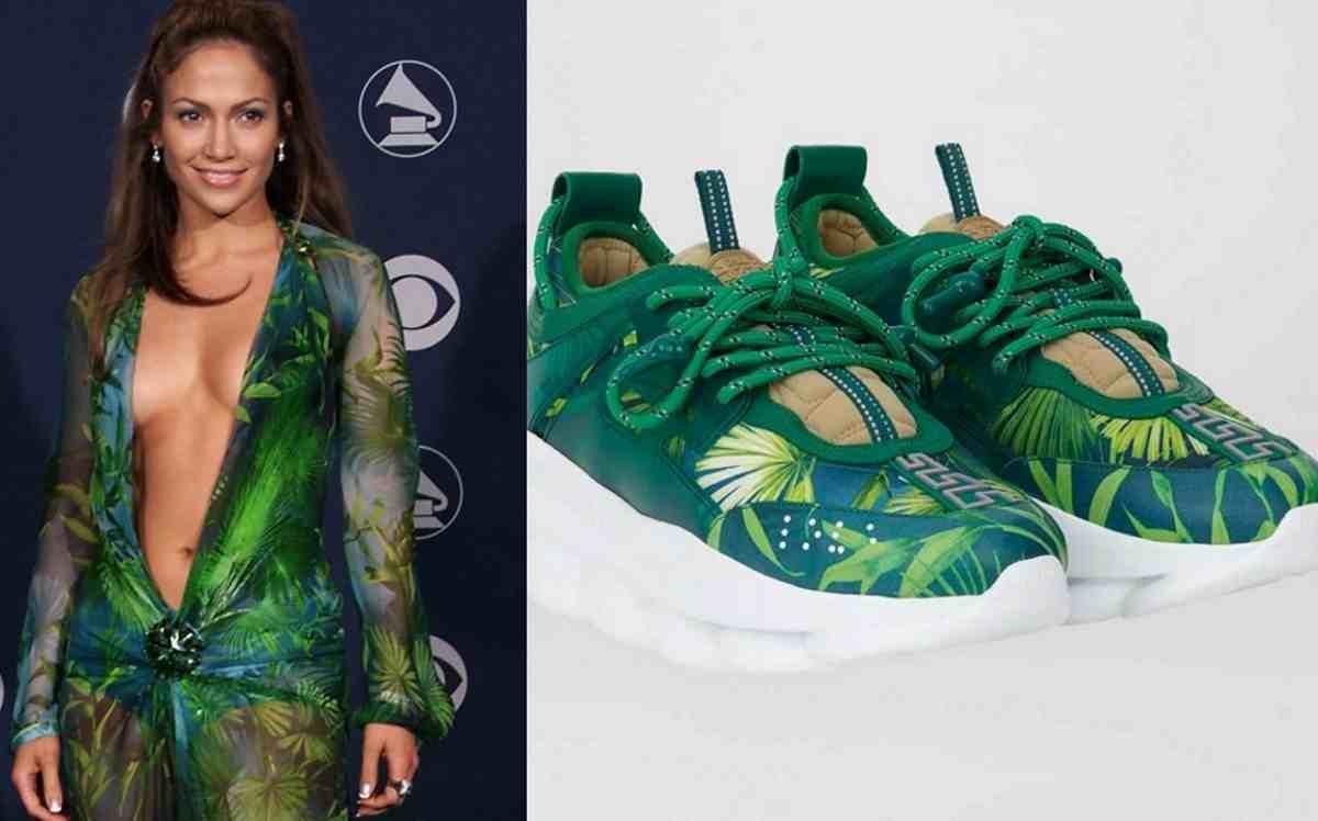 Scarpe ispirate all-abito di Jennifer Lopez