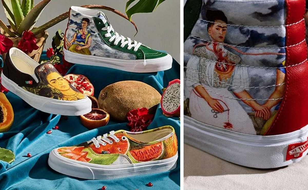wholesale dealer b092b 8a9c7 Vans lancia una linea di scarpe ispirata ai dipinti di Frida ...