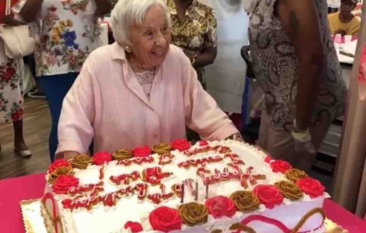 Donna compie 107 anni
