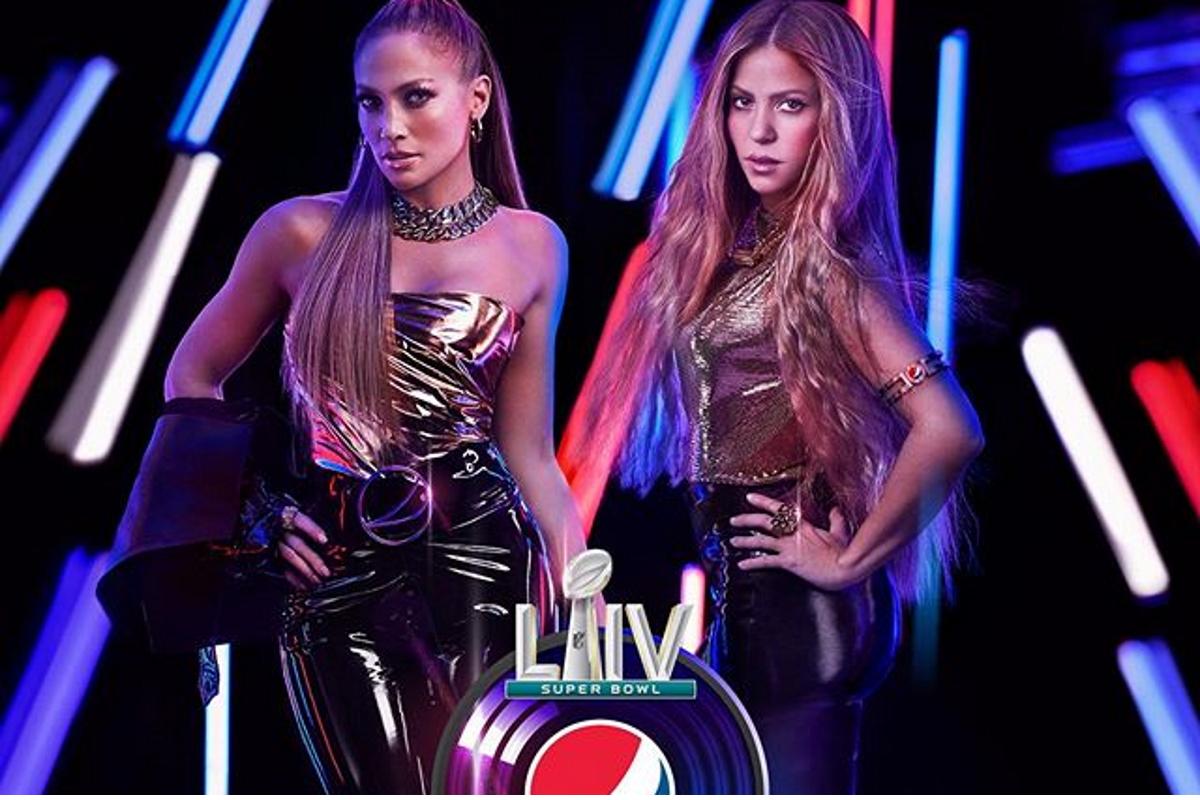 Super Bowl Jennifer Lopez Shakira