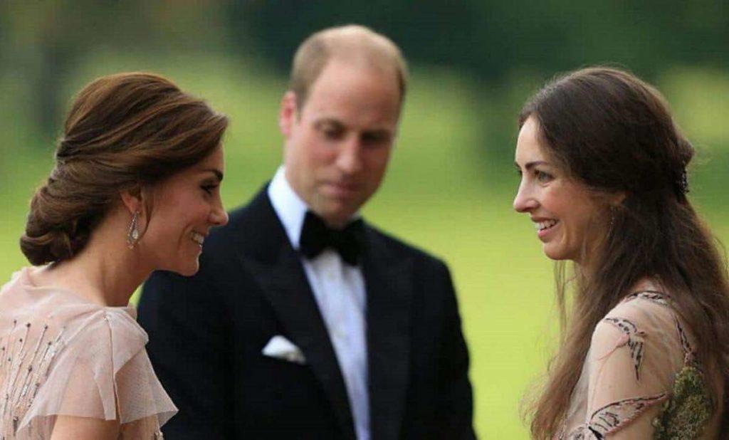 Kate Middleton - Rose-Hanburry e il Principe William