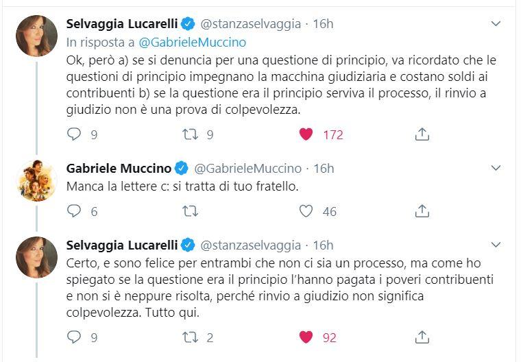 Selvaggia Lucarelli VS Gabriele Muccino