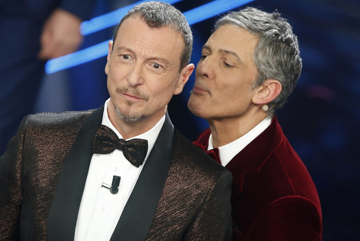 Amadeus e Fiorello a Sanremo 2021