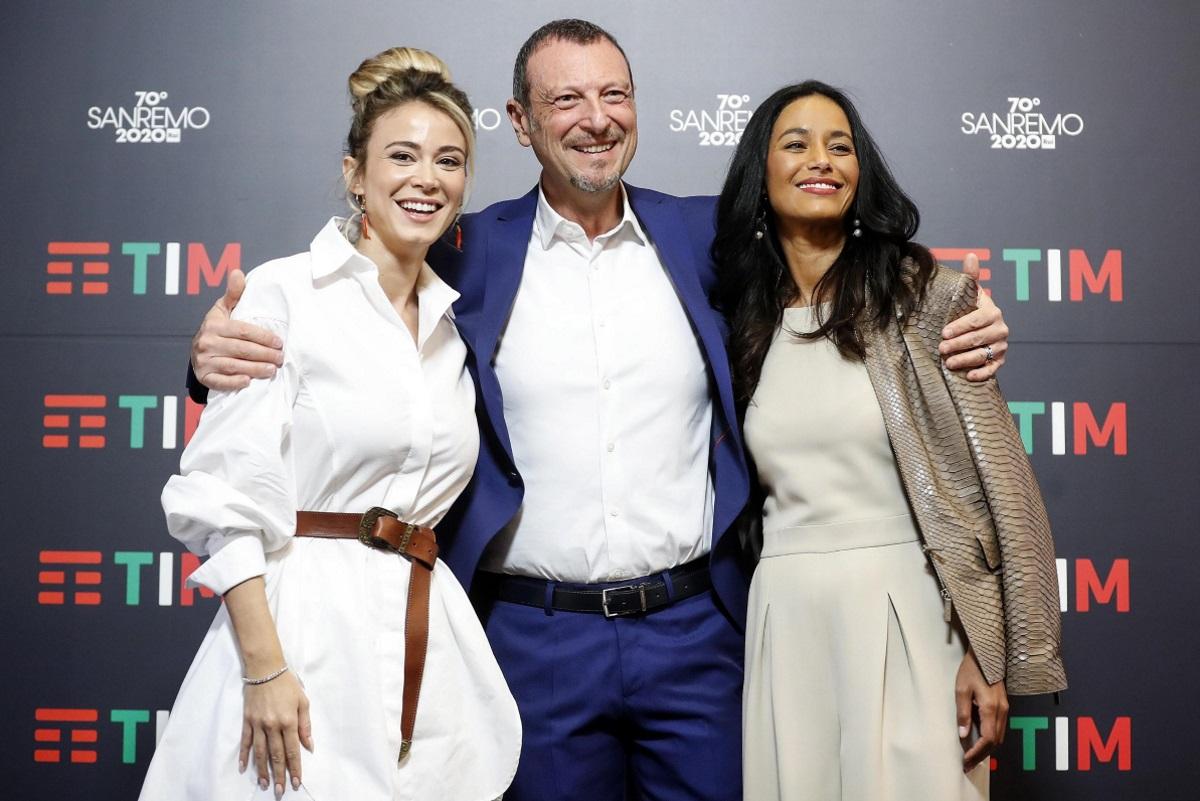 Diletta Leotta, Amadeus e Rula Jebreal