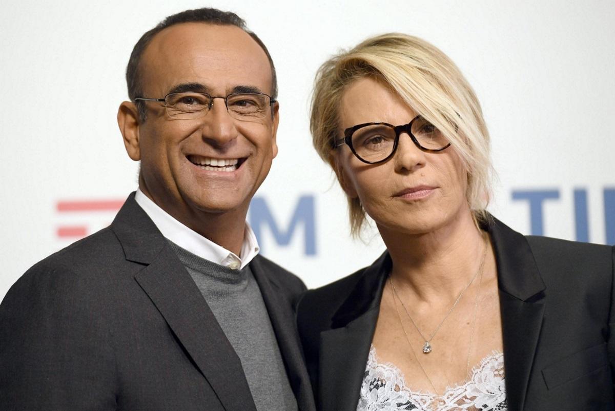 Carlo Conti e Maria De Filippi