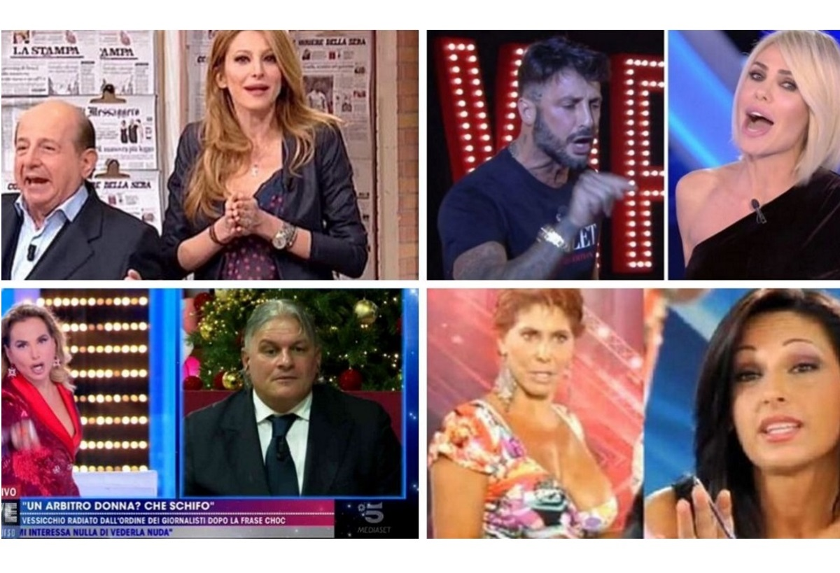 I litigi in tv più famosi di sempre