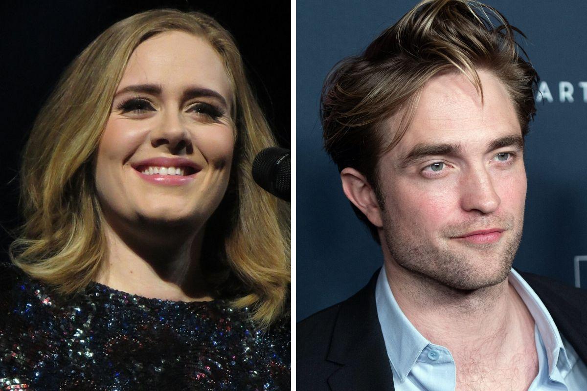 Adele e Robert Pattinson
