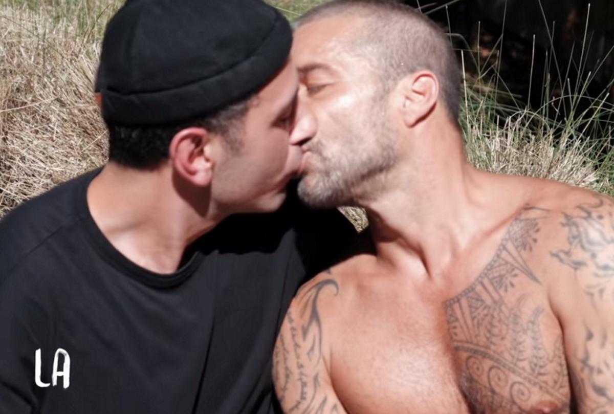 Ricky Martin bacia il marito