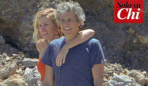 Alessia Marcuzzi e Paolo Calabresi Marconi