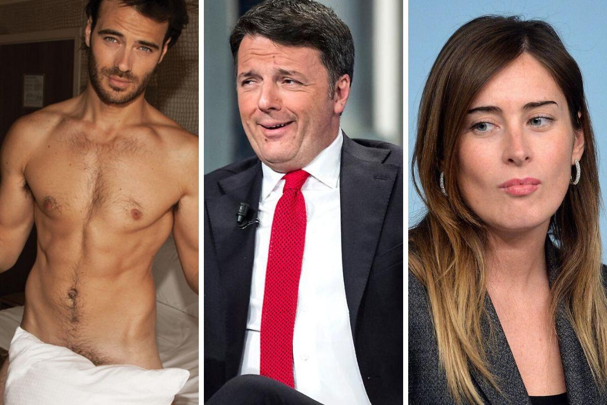 Giulio Berruti - Matteo Renzi - Maria Elena Boschi