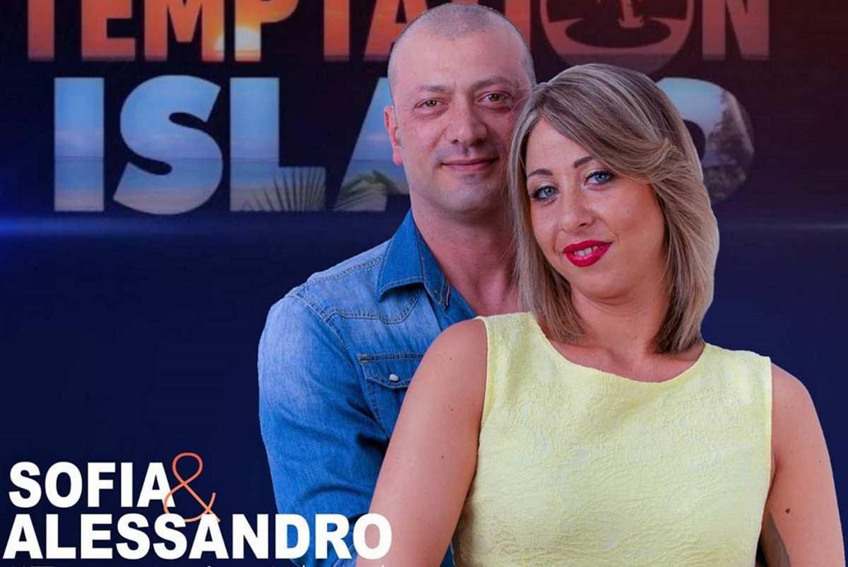 Alessandro e Sofia di Temptation Island