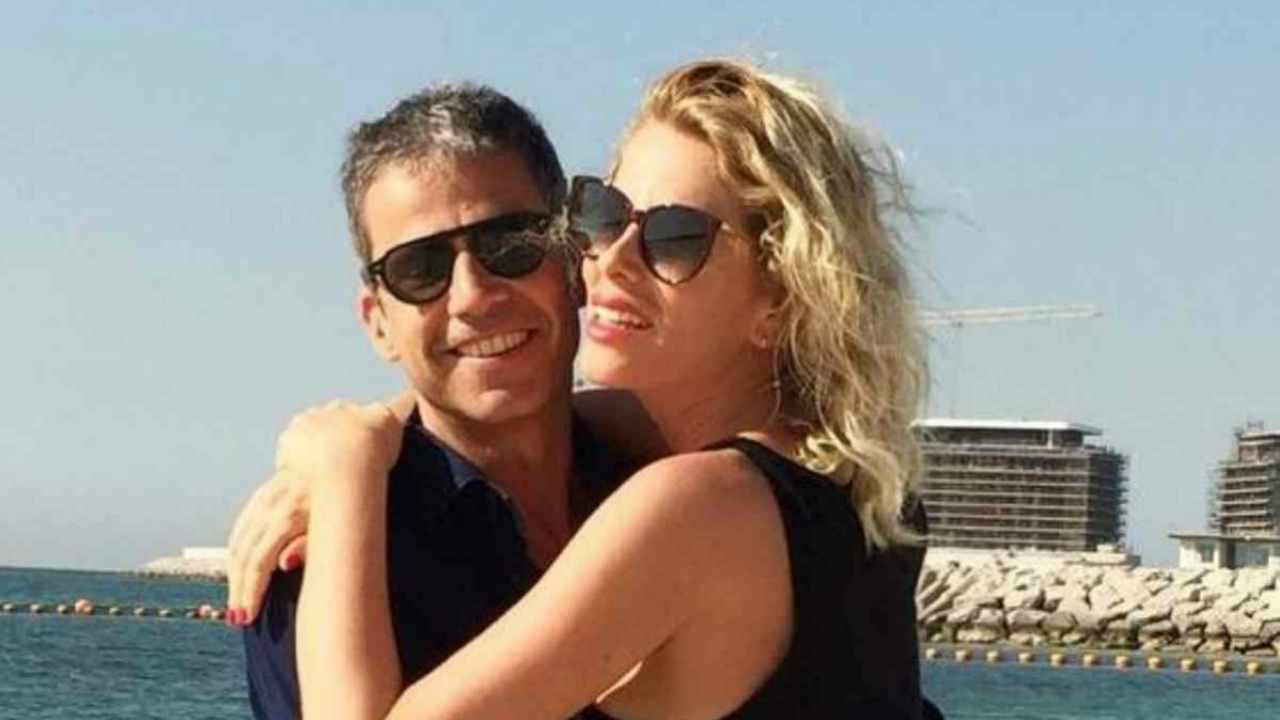 Alessia Marcuzzi e il marito Paolo Calabresi