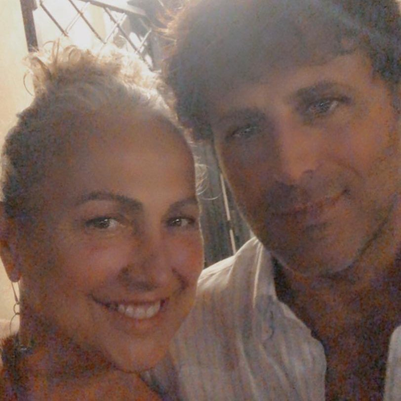foto pubblicata da Alessandra Celentano con l'ex marito