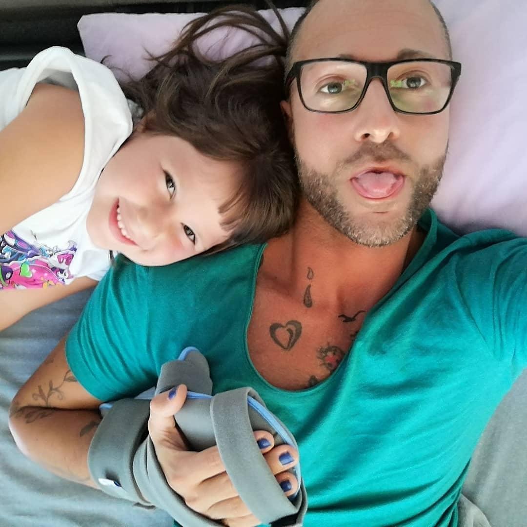 Ivan Cottini figlia