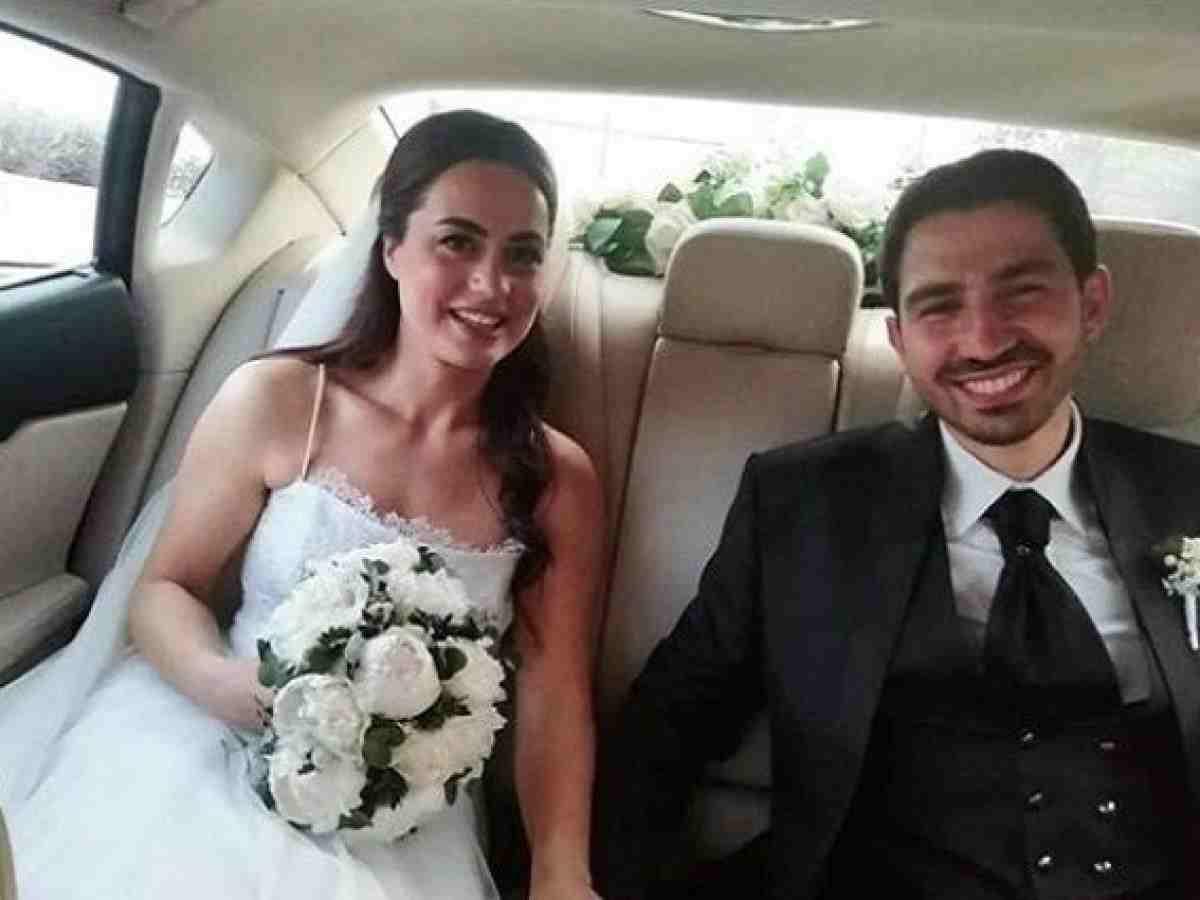 Paola Frizziero e il marito