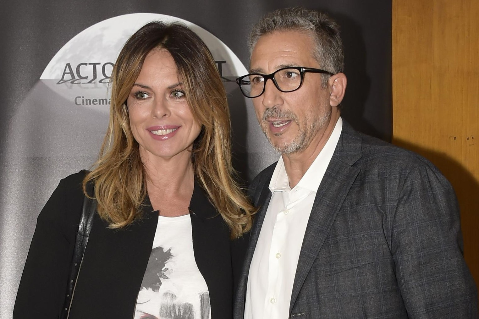 Lucio Presta e Paola Perego