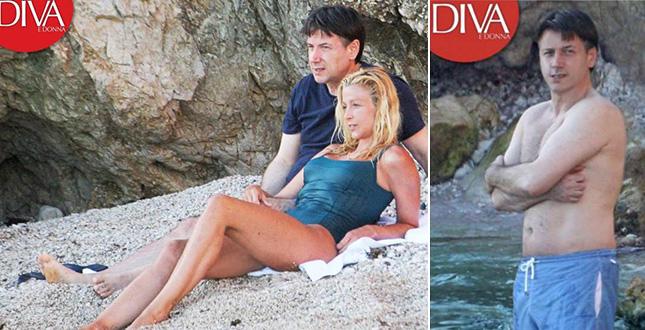Giuseppe Conte e la fidanzata Olivia Paladino