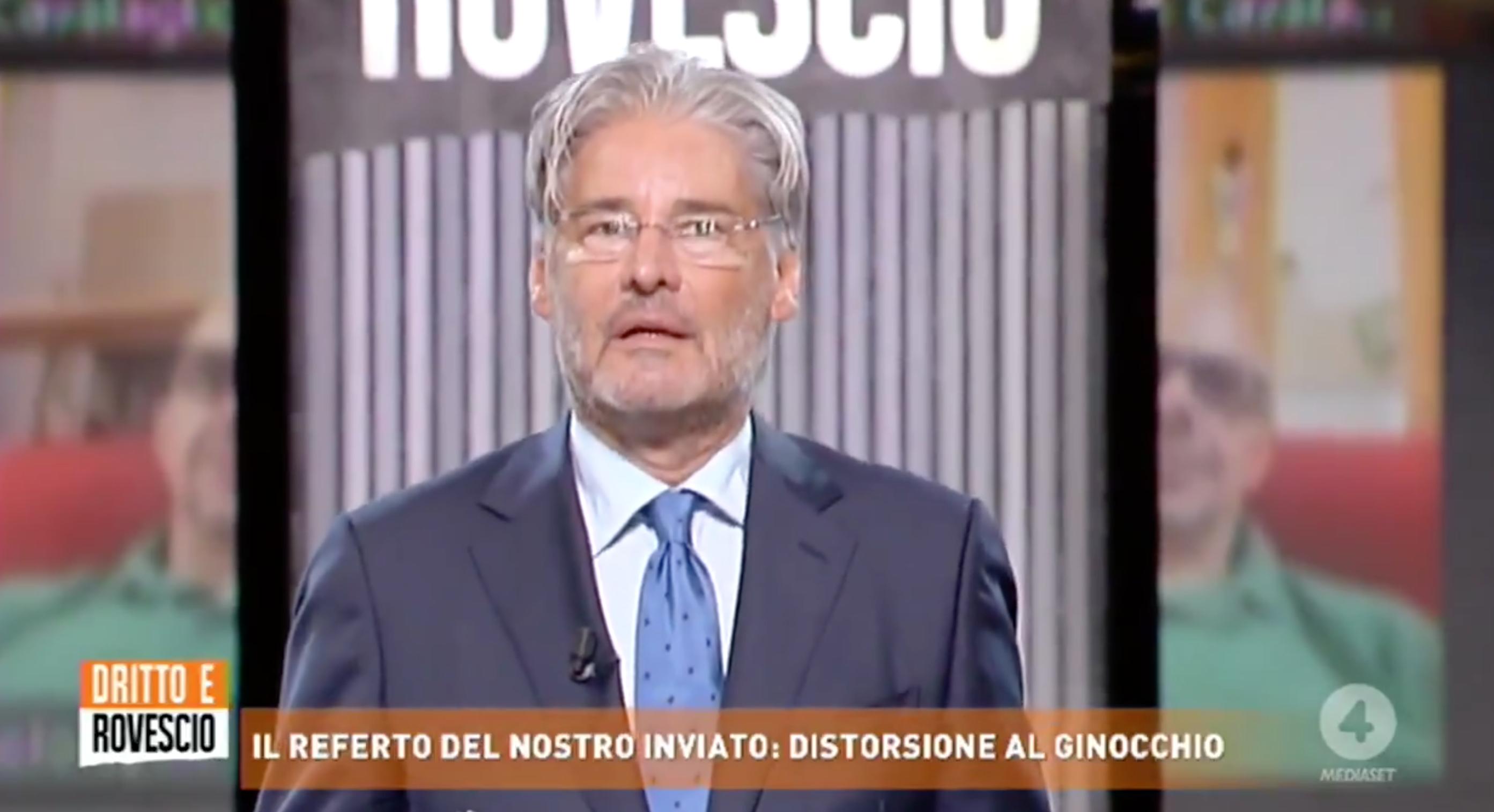 Paolo Del Debbio, nuovo look dopo le vacanze estive