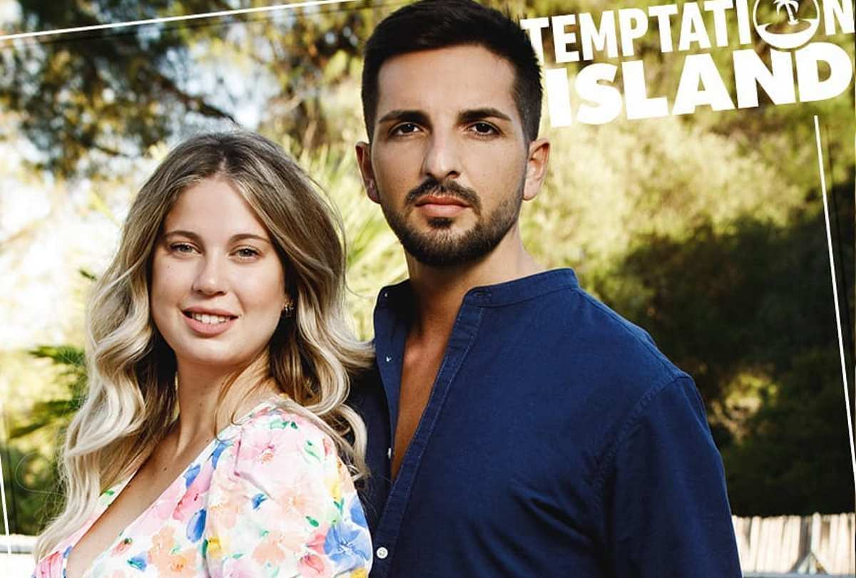 Serena e Davide Temptation Island falò