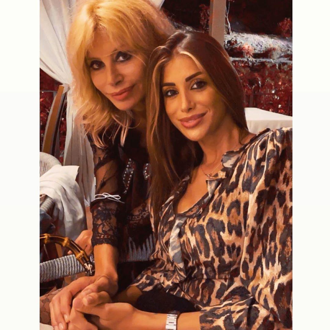 Nicoletta Larini madre