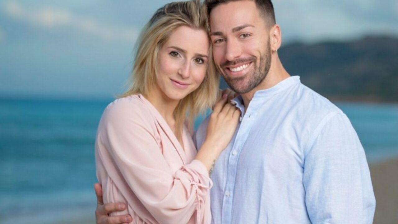 Michael De Giorgio e Lara Zorzetto, protagonisti di Temptation Island