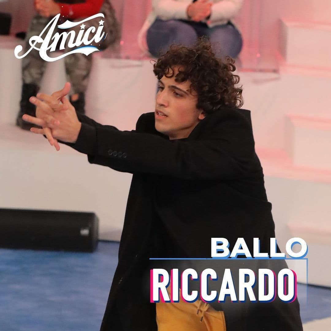Riccardo ballerino amici