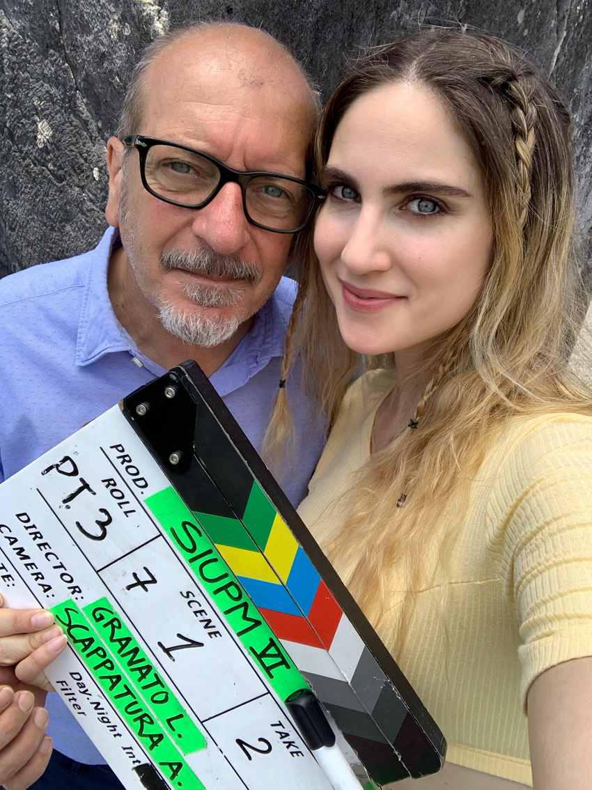 """Miriam Galanti al fianco di Dario Vergassola in """"Sei in un paese meraviglioso"""""""
