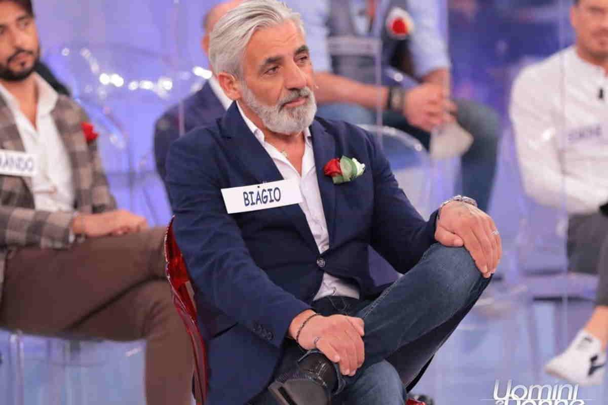 Uomini e Donne over Biagio