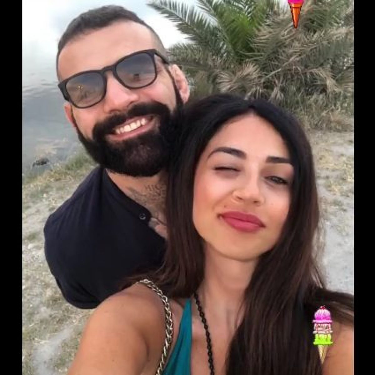 Alessio Sakara e Raffaella Mennoia