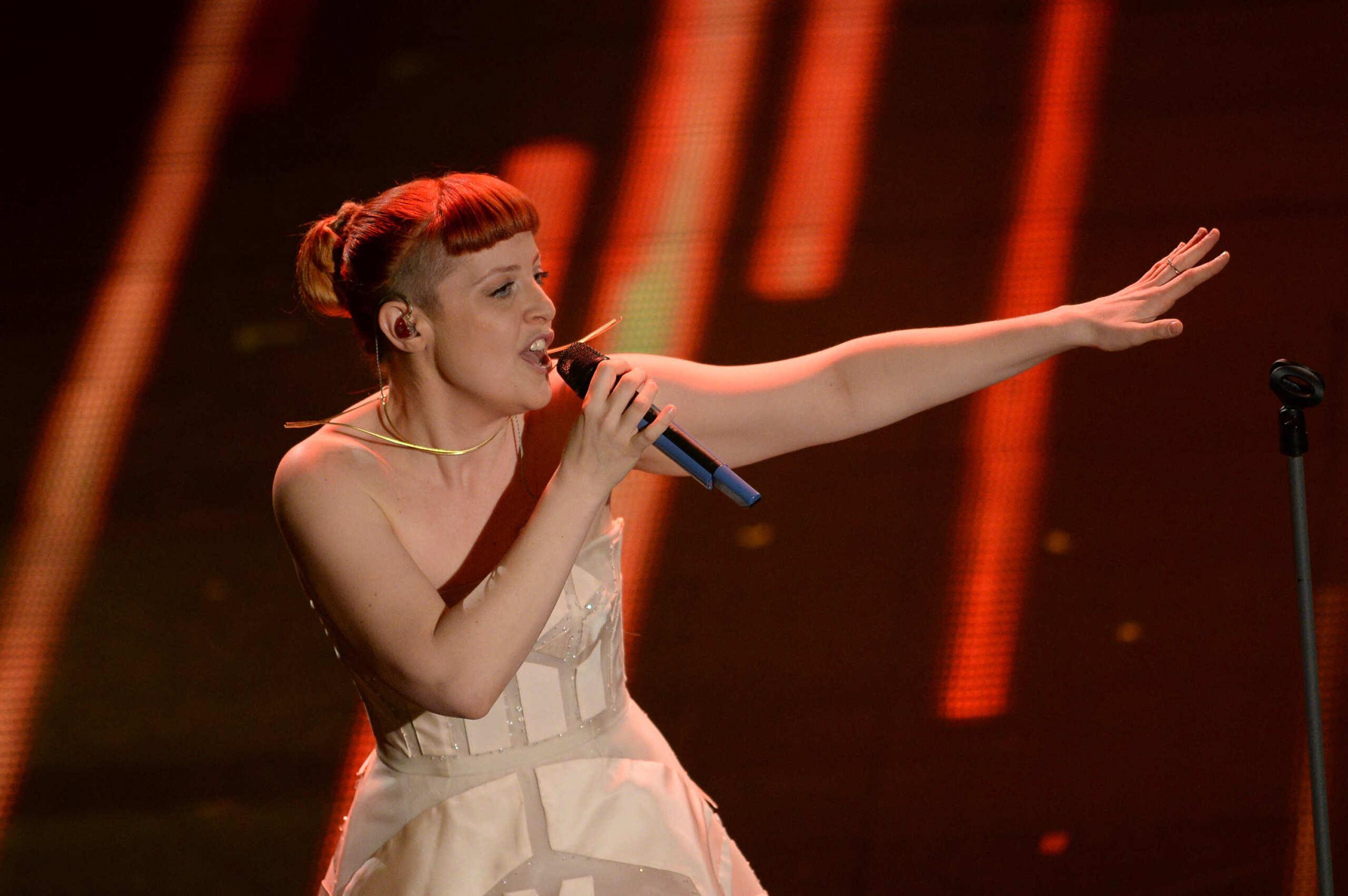 Noemi a Sanremo 2014 / Fonte foto: FPAnimazione
