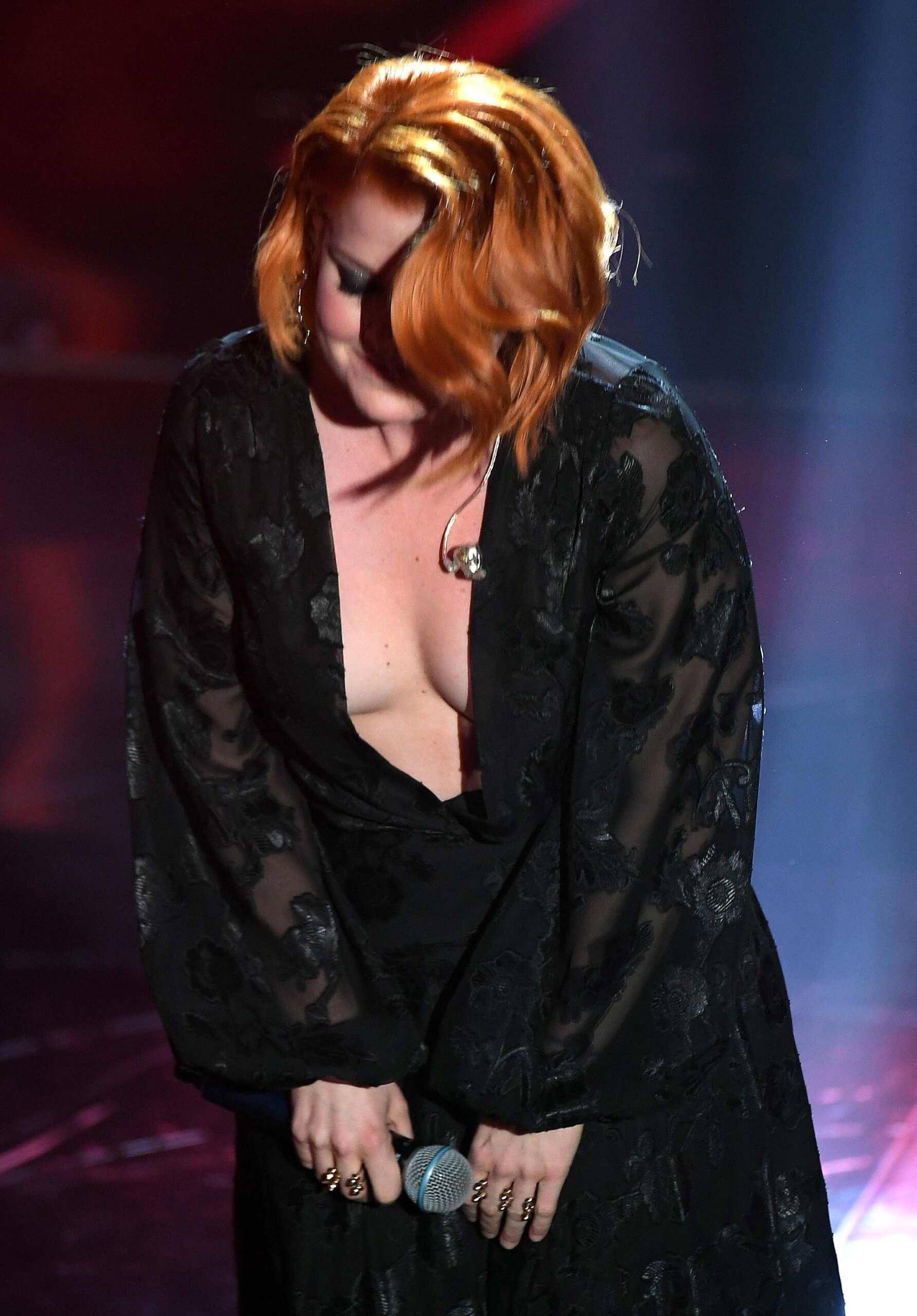 Noemi a Sanremo 2018 - Fonte foto: giornaledisicilia.it