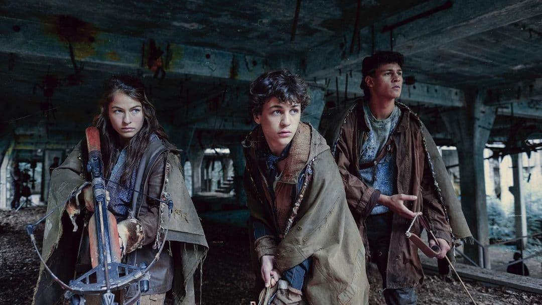 Emilio Sakraya (Kiano), Henriette Confurius (Liv) ed Elja (David Ali Rashed) attori fratelli tribe of europe