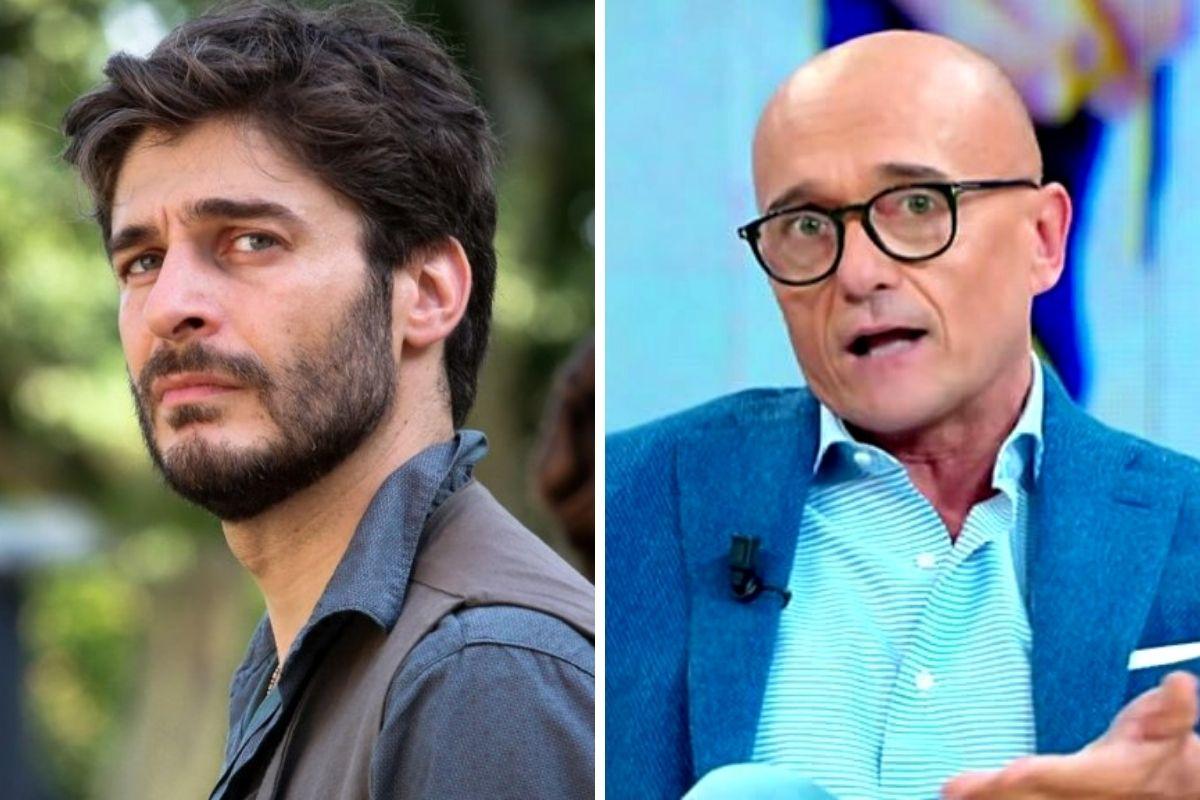 Lino Guanciale e Alfonso Signorini
