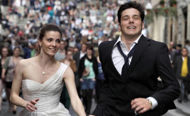 Filippo Scicchitano e Giulia Valentini