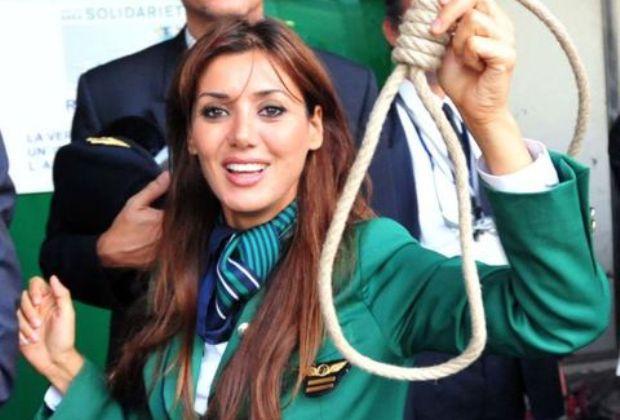 Daniela Martani pasionaria dell'Alitalia