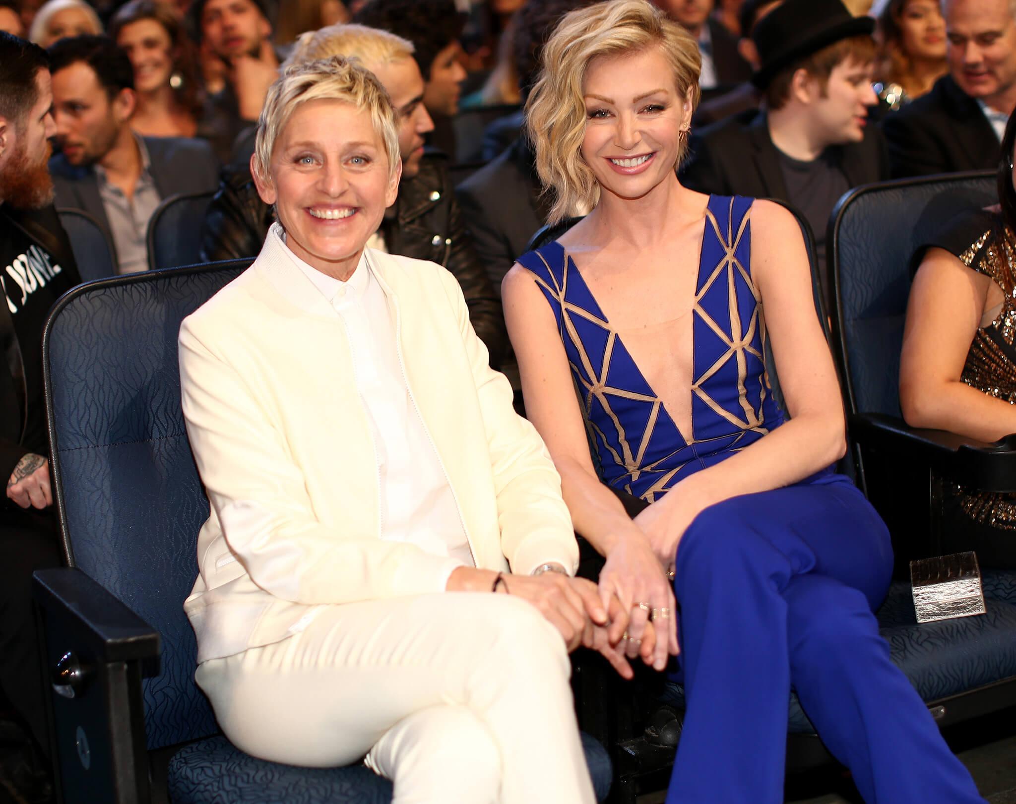 Ellen DeGeneres e la moglie Portia De Rossi
