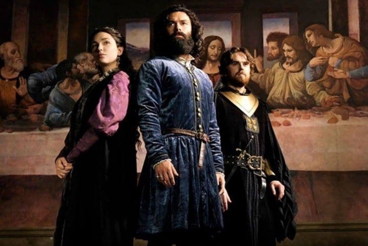 Leonardo Da Vinci serie tv rai quando inizia cast trama puntate