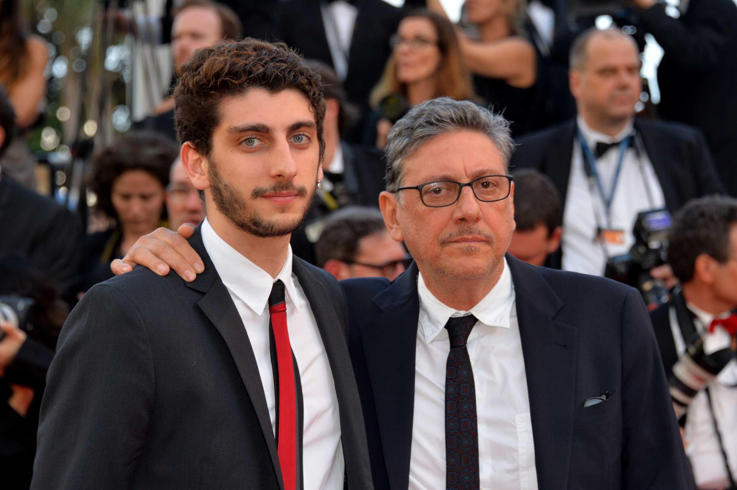 Pietro Castellitto e suo padre Sergio