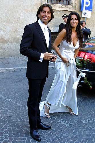 Sabrina Ferilli e l'ex marito Andrea Perone