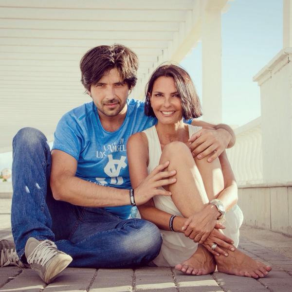 Nina Soldano con il marito