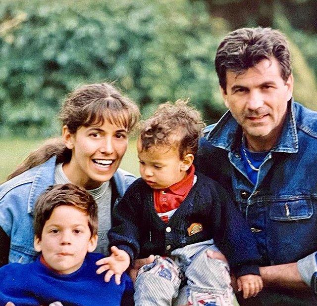 Mauro Berardi, ex compagno di Barbara D'Urso e padre dei suoi figli Emanuele e Giammauro